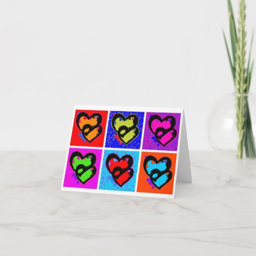 POP HEARTS HOLIDAY CARD