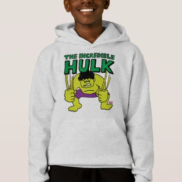 Pop Hulk with Logo Hoodie