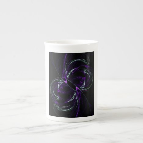 Possibilities - Cosmic Purple & Amethyst Tea Cup