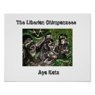 Poster of the Liberian Chimpanzees