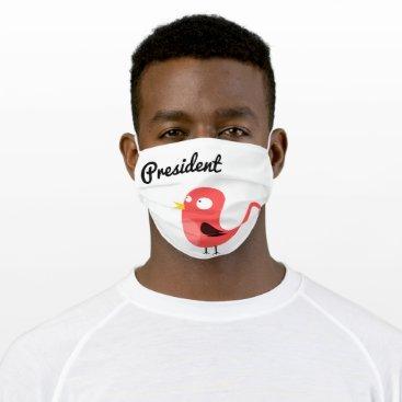 President Tweety Cloth Face Mask