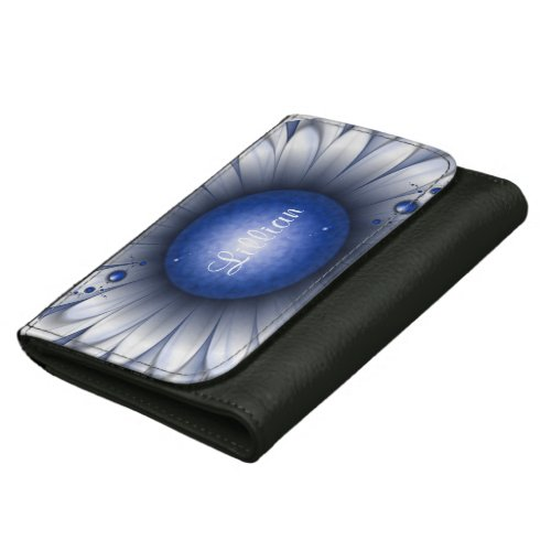 Pretty Blue Eyes Medium Leather Wallet