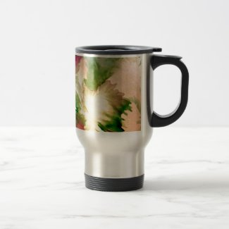 Pretty Floral Flowers Mother's Day Gifts Stainless Steel Travel Mug