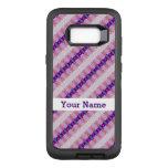 Pretty Pink Purple Pattern Design OtterBox Defender Samsung Galaxy S8+ Case