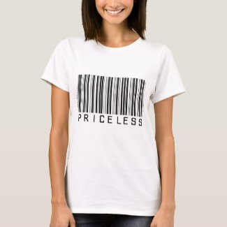 Priceless - Barcode - Shirt shirt