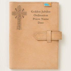 Priest Gift Golden Jubilee Personalized Journal
