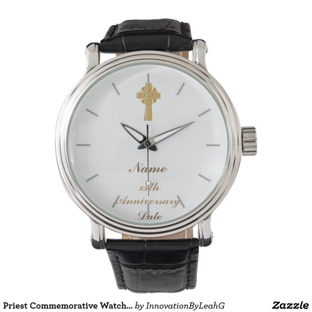 Priest Gift Personalized Commemorative Wrist Watch