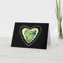 Primula Heart Romance Valentine Love Card