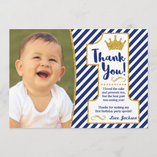Prince Thank You Cards Zazzle