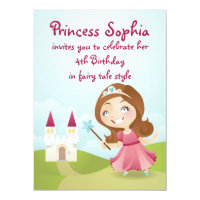 Princess Birthday Party Invite