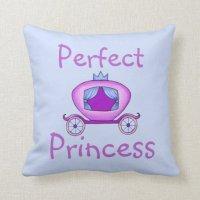 Princess Pals (Purple Collection) Throw Pillow | Zazzle