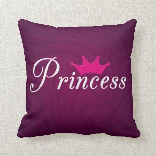 Princess Pillows, Princess Throw Pillows