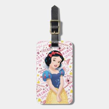 Princess Snow White Luggage Tag