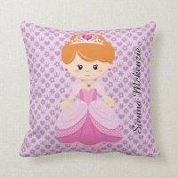 Princess Throw Pillows | Zazzle