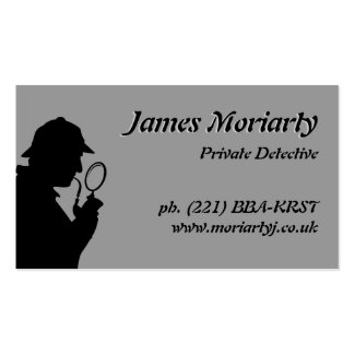Private Detective/Investigator Business Card