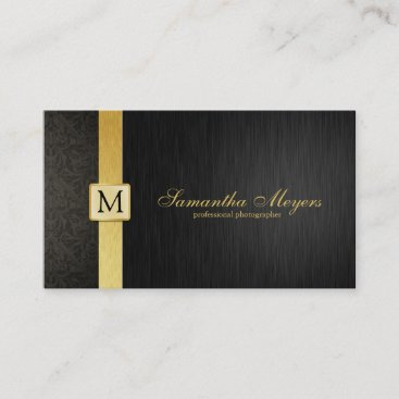 Professional Elegant Damask Business Cards