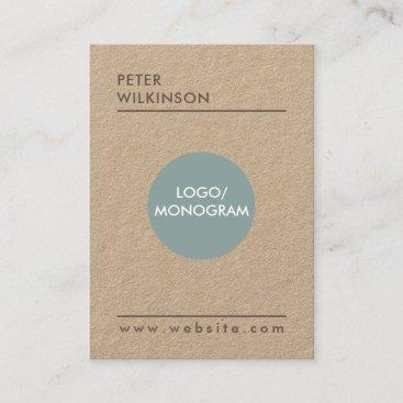 Professional minimalist style business card