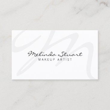 Professional Modern Black and White Appointment