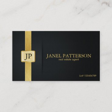 Professional Real Estate Agent - Add your photo Business Card