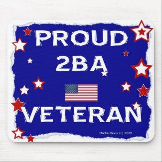 Proud 2BA Veteran - Mousepad