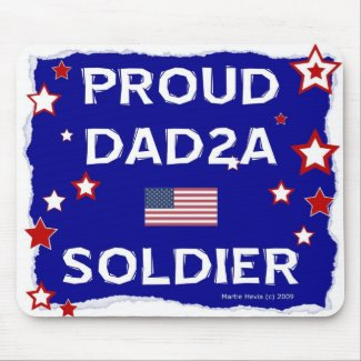 Proud DAD2A Soldier - Mousepad mousepad