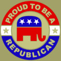 Proud Republican Button zazzle_button