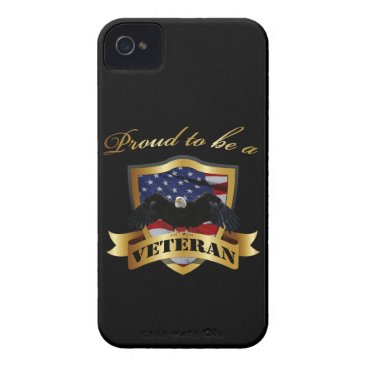 Proud to be a Veteran Case-Mate iPhone 4 Case