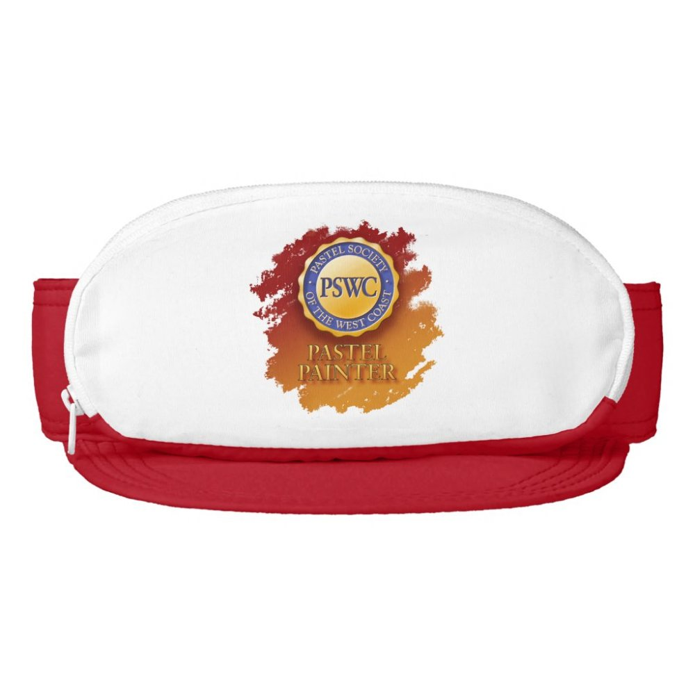 PSWC Logo Visor with Pocket