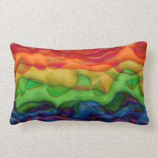 Rainbow Pillows  Decorative  Throw Pillows  Zazzle