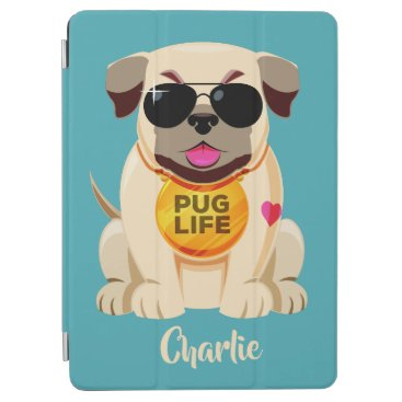 Pug Life custom name & color device covers