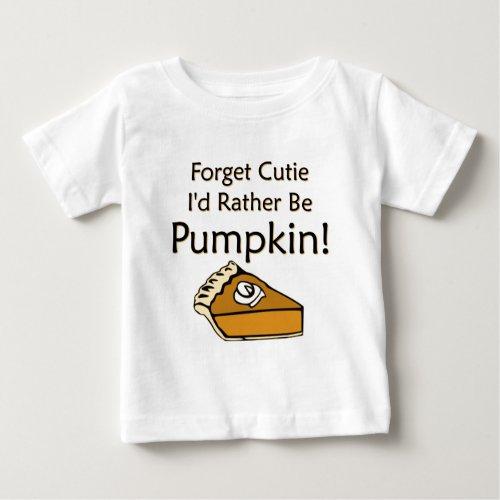 Pumpkin Pie Baby T-Shirt