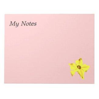 Pumpkinflower notepad