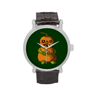 Pumpkinman Watch