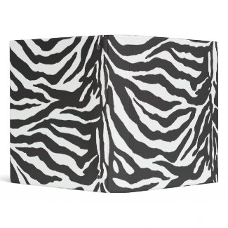 Pure Zebra binder