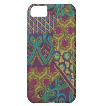 Purple Abstract Case-Mate iPhone 5