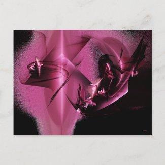 Purple Anomaly Postcard