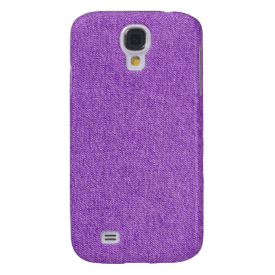 Purple Blue Jean Samsung Galaxy S4 Case