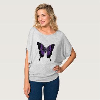 Beautiful Purple Butterfly Shirt
