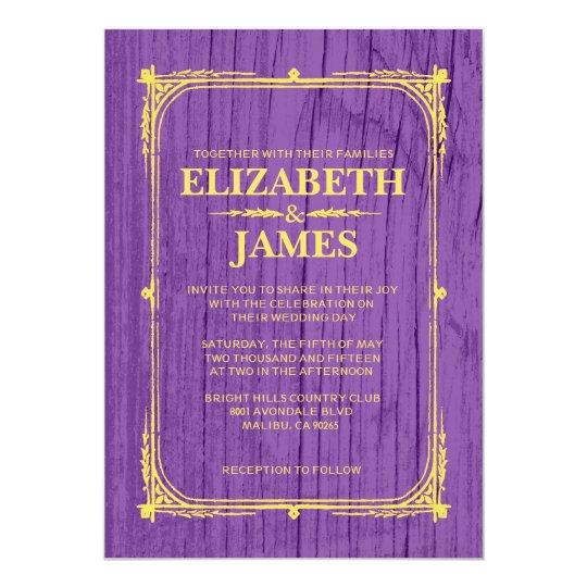 Zazzle Purple Bridal Shower Invitations
