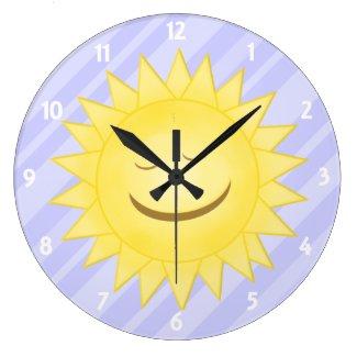 Purple: Happy Sunshine Clock