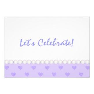 Purple Heart: Party Invitation