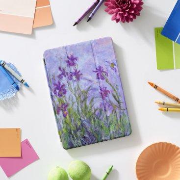 Purple Irises by Claude Monet iPad Pro Cover
