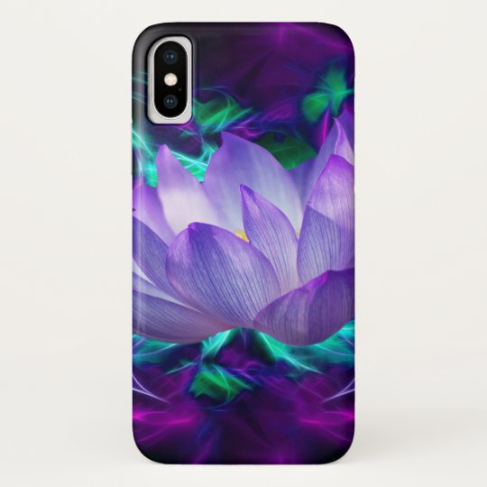 Purple lotus flower and its meaning Case-Mate iPhone case   Zazzle.com