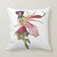 Girl Pixie Pillows - Decorative & Throw Pillows | Zazzle