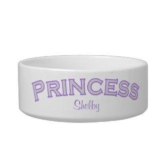 Purple Princess Pet Bowl petbowl