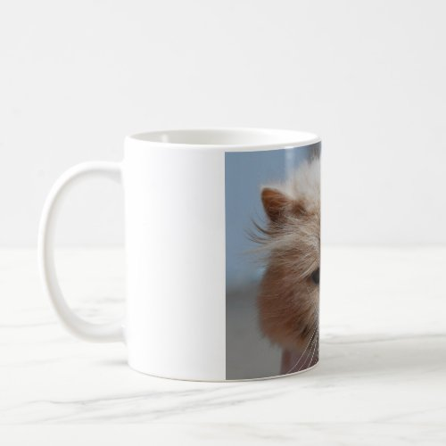 Purr-fect Persian Coffee Mug mug