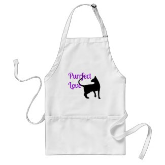 Purrfect Love Aprons