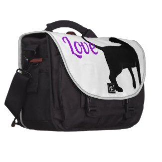 Purrfect Love Cat Laptop Computer Bag
