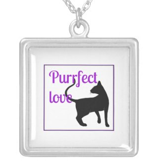 Purrfect Love Pendants