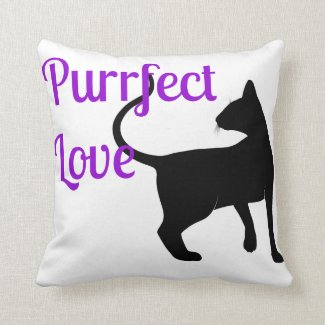 Purrfect Love Pillows
